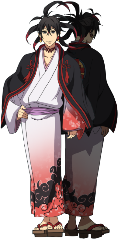 Anime Characters Laughing : Tenka kumo from laughing under the clouds