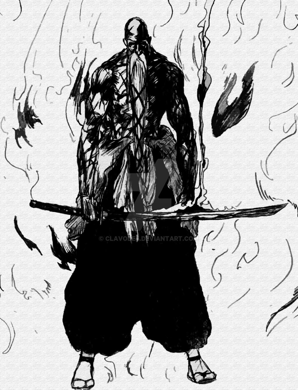 Genryuusai Shigekuni Yamamoto From Bleach