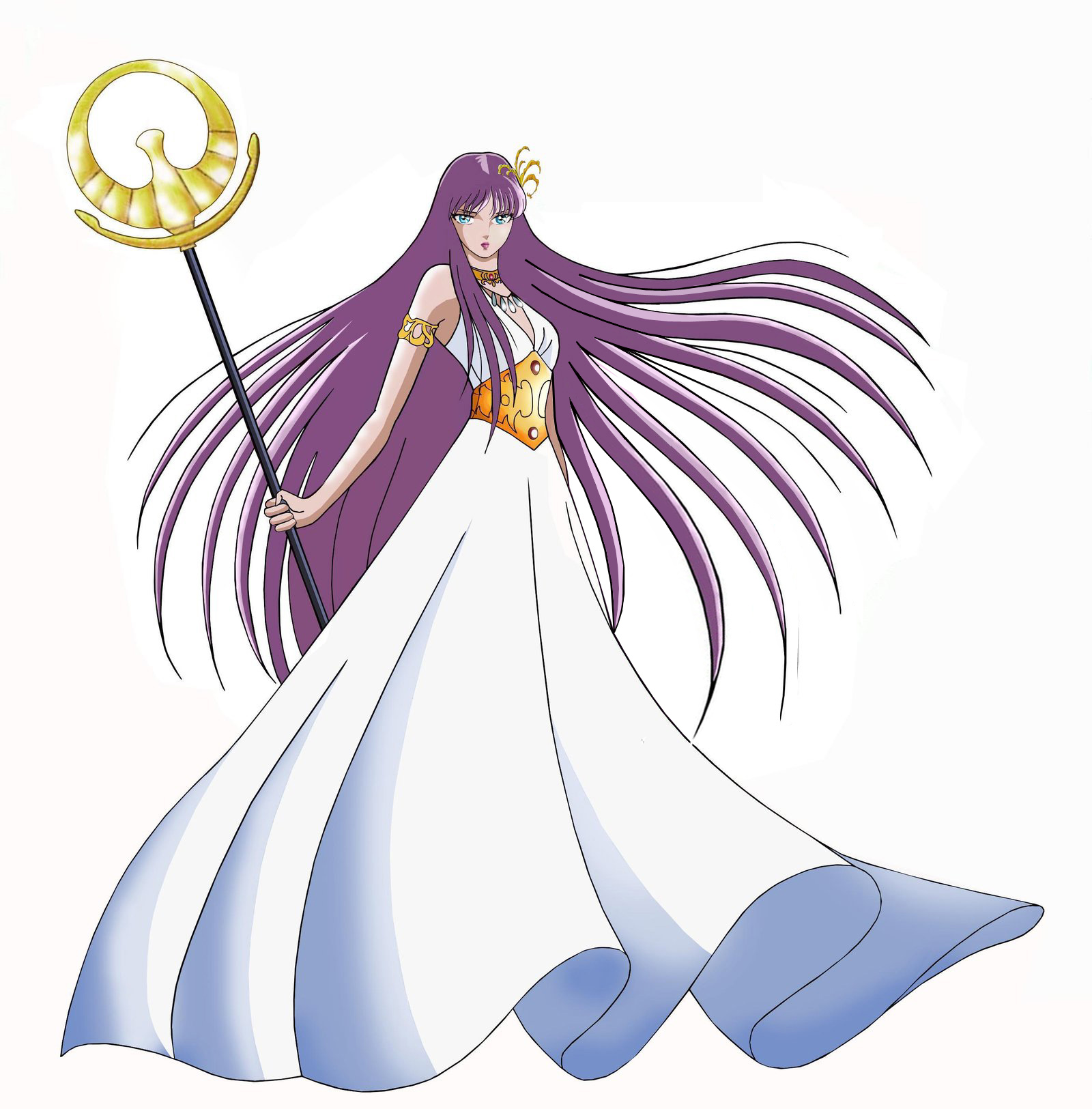 Athena from Saint Seiya: The Lost Canvas - Myth of Hades