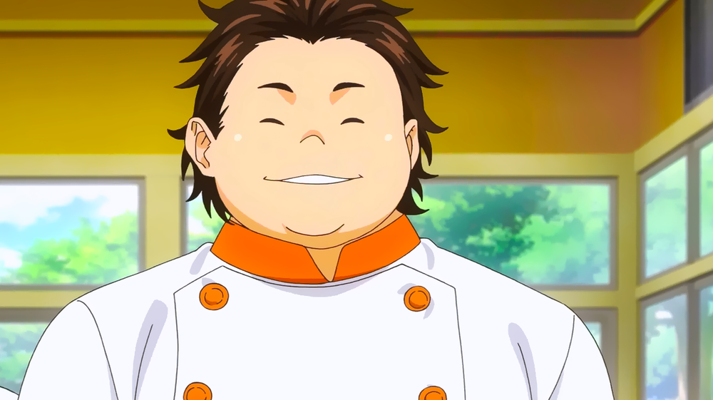 Isami Aldini From Food Wars