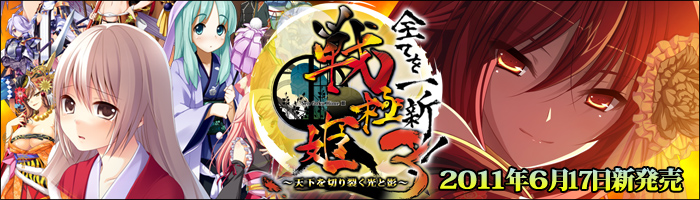 Sengoku Hime 3 ~Tenka o Kirisaku Hikari to Kage~