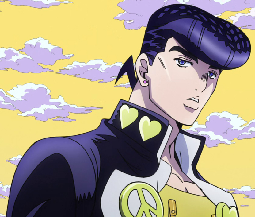 Josuke Higashikata From JoJos Bizarre Adventure Diamond Is Unbreakable