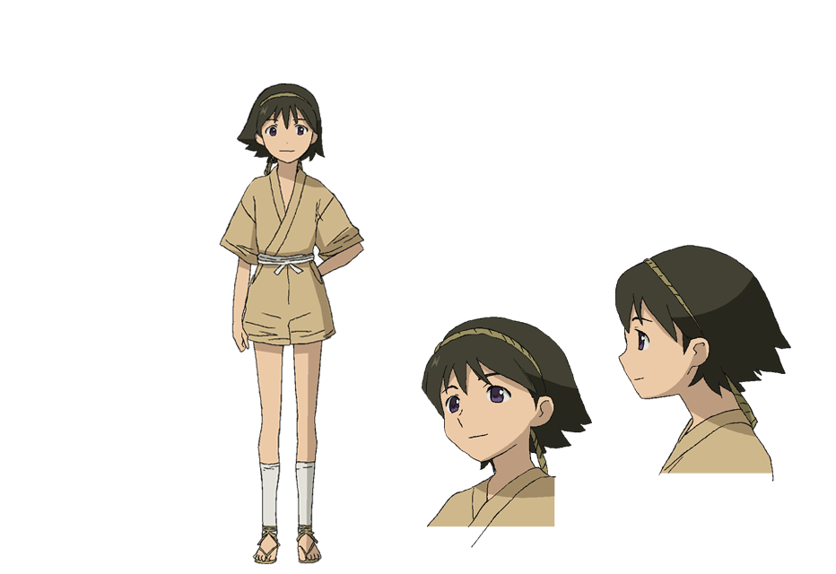 Anime Character Quon : Towa miduchi from no quon chapter fleeting petals