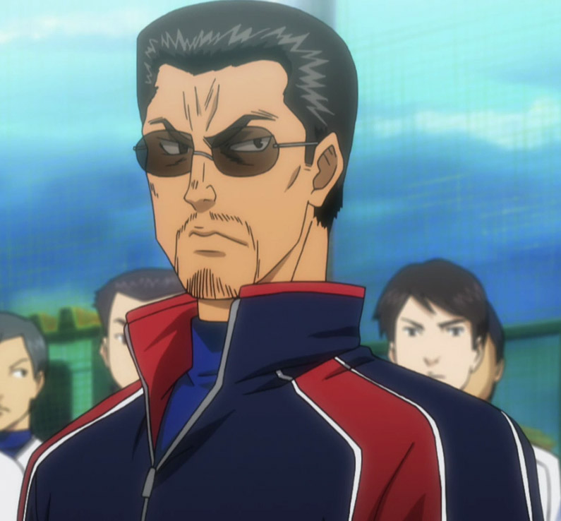 Image Sawamura Vs Kataoka Png: Tesshin Kataoka From Ace Of Diamond