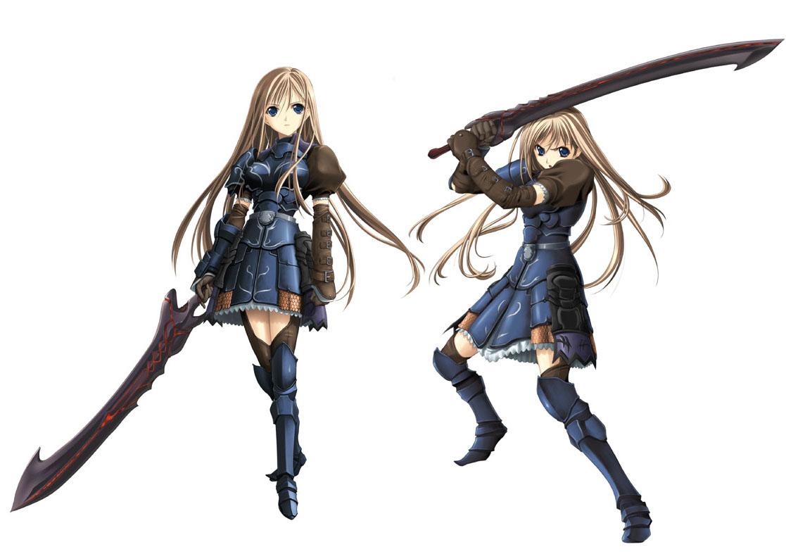 Anime Characters Using Sword : Katima aigias from seinarukana the spirit of eternity