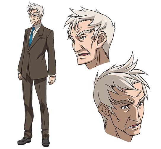 G Anime Character : Masahito shibata from senki zesshou symphogear g