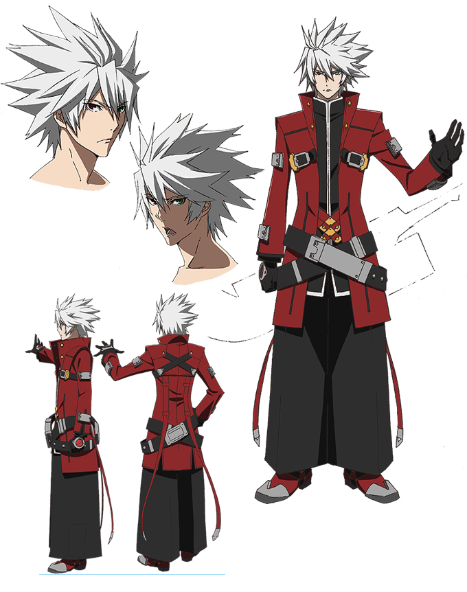 Ragna the Bloodedge from BlazBlue