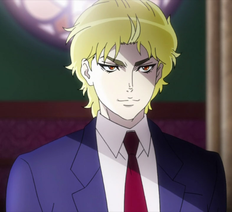 Dio Brando Young From Jojo S Bizarre Adventure 2012