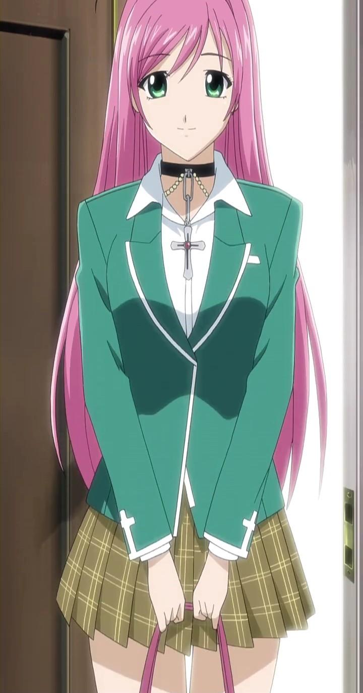 Anime Characters Vampire : Moka akashiya from rosario vampire