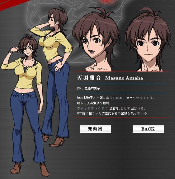 Masane Amaha From Witchblade