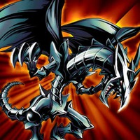 Image of Red Eyes Black Metal Dragon