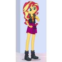 Image of Sunset Shimmer (human form)