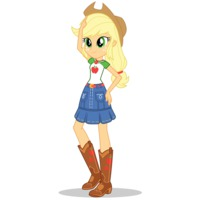Image of Applejack (human form)