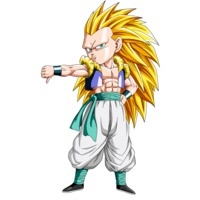 Image of Super Saiyan 3 Gotenks