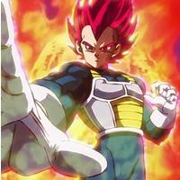 Image of Super Saiyan God Vegeta