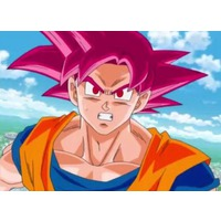 Image of Super Saiyan God Goku